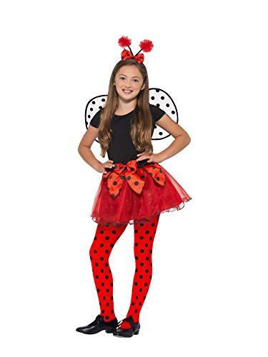 SMIFFY 'S 49722Marienkäfer Kit, Mädchen, schwarz/rot, Medium, UK -