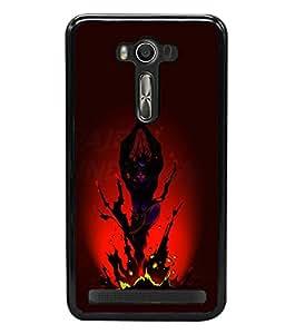 printtech Lord Shiva Tandava Back Case Cover for Asus Zenfone 2 Laser ZE500KL , Asus Zenfone 2 Laser ZE500KL (5 Inches)