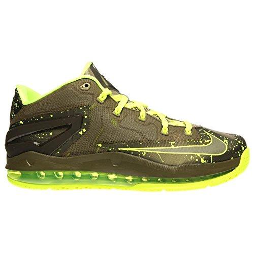 Nike, Scarpe Basket uomo - Mitteldunkel Khaki Volt Medium Olive 200