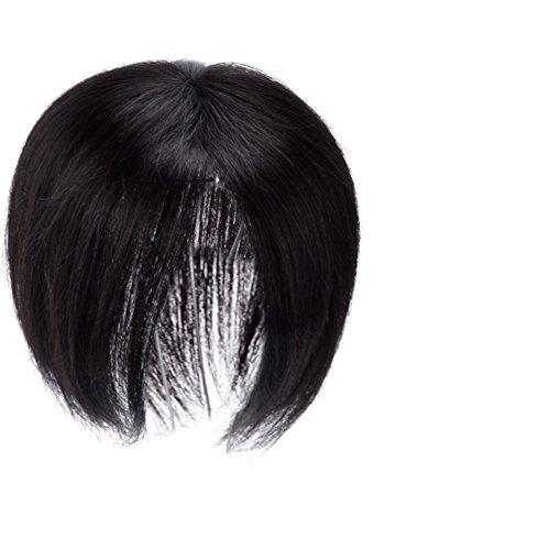 Ragazza parrucca/sostituzione della testina/capelli umani bangs-m