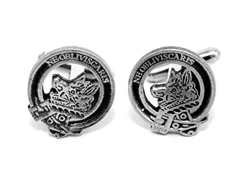 scottish-clan-campbell-crest-cufflinks-english-pewter-handmade-gift-boxed-h