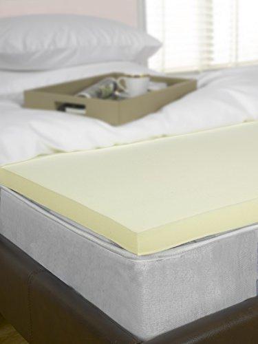 Memory Foam Mattress Topper, 3 inch – UK Double