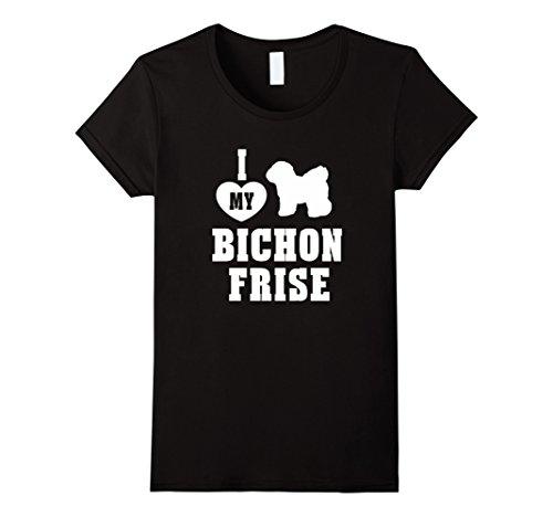 i-heart-love-my-bichon-frise-dog-breed-women-men-t-shirt-damen-grosse-l-schwarz