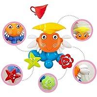 Baby Badespielzeug Für Kleinkinder Set Große Krabbe Spray Windmühle Wasser Polsterung Spielzeug Schwimmbad Spielzeug preisvergleich bei kleinkindspielzeugpreise.eu