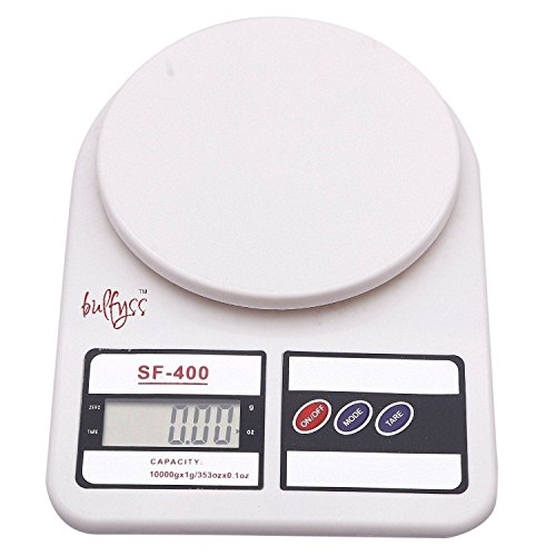 Bulfyss-Electronic-Kitchen-Digital-Weighing-Scale-10-Kg-White