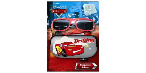 Disney Pixar Cars Sunglasses and Case - 100% UV ()