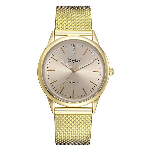 Lazzgirl Lvpai Frauen Casual Quarz silikonband Band Uhr analog Armbanduhr(A,One Size)