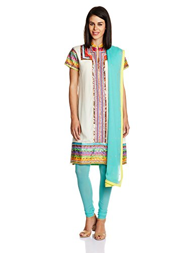 Indian By Manish Arora Women's Straight Salwar Suit Set
