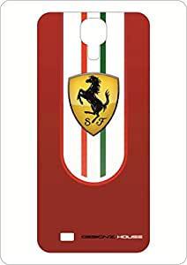 Designz House Ferrari Horse Mobile Skin For Samsung S4