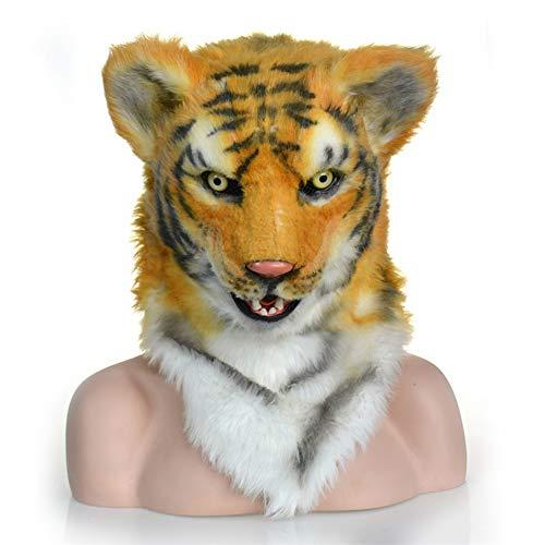 CQ Halloween Tiger Kopf Maske für Halloween Party Kostüme - Tiger Nase Kostüm