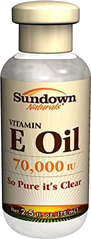 Sundown Naturals Vitamin E Oil -- 70000 IU - 2.5 fl oz - 2pc by Sundown Naturals