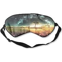 Dream Place Pattern Sleep Eyes Masks - Comfortable Sleeping Mask Eye Cover For Travelling Night Noon Nap Mediation... preisvergleich bei billige-tabletten.eu