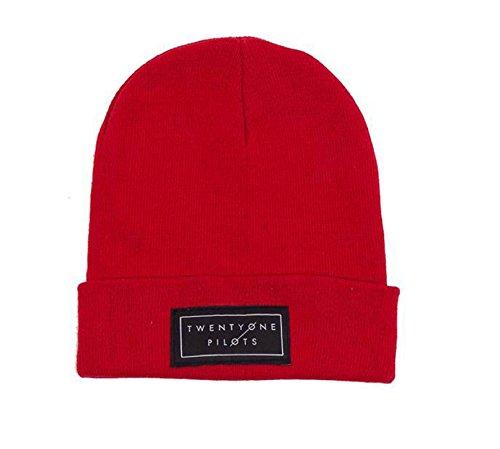 Twenty One Pilots - Cappello in maglia - Uomo Rosso rosso