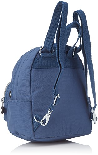 Kipling Damen Mini Backpack Rucksack, 17 x 19 x 21.5 cm Blau (Jazzy Blue)