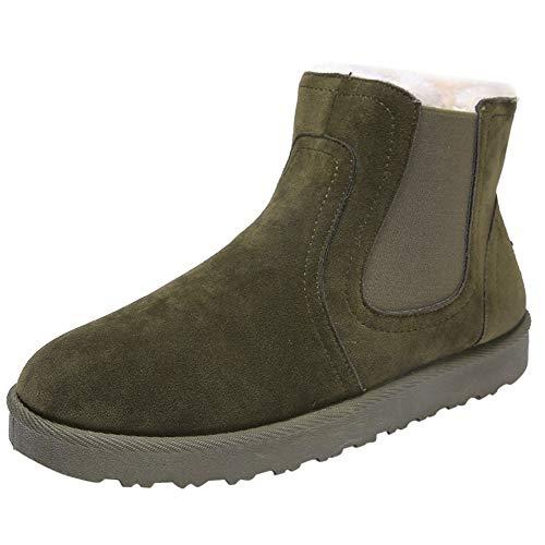LuckyGirls Botas de Nieve Deportivas Forrada De Piel Zapatos Botines Calzado Zapatillas...