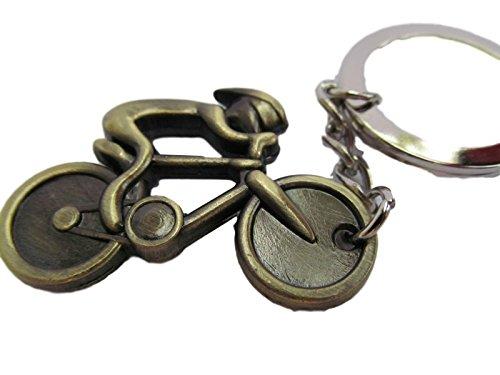 Fat-CATZ - colore bronzo metallo per bicicletta t-shirt portachiavi takasugi idea regalo - spedizione in London