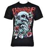 Camiseta calavera y rosas de Bullet For My Valentine (Negro) - S