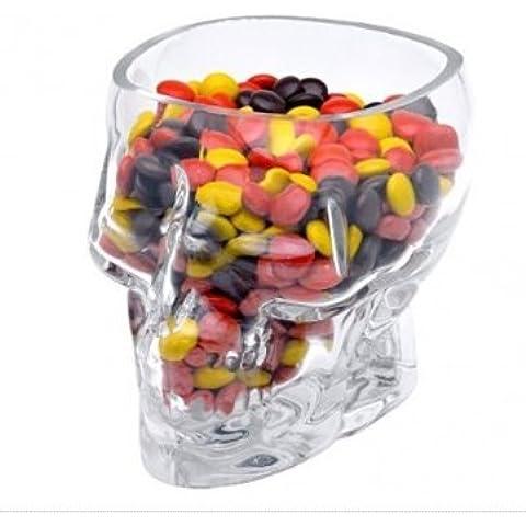 Alta qualità Crystal Head Vodka-Bicchierini da Shot a forma di teschio Bicchieri di vetro da whisky