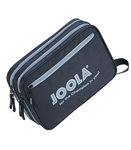 Joola - Custodia Double Safe per Racchetta da Ping Pong, da Tavolo, Colore: Nero/Grigio
