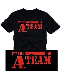 A-TEAM - T-SHIRT schwarz Gr.L