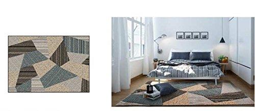 Shag Teppich Mischteppich Wohnzimmer Einfache Und Moderne Schlafzimmer Nachttisch Nordic Sofa Couchtisch Teppich Ztoyby (Color : #3)