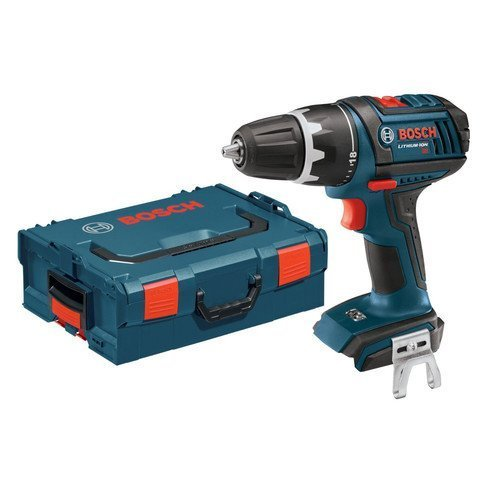 Bosch Bare-Tool DDS181BL 18-Volt Lithium-Ion 1/2-Inch Compact Tough Drill/Driver with L-BOXX-2 and Exact-Fit Tool Insert Tray by BOSCH