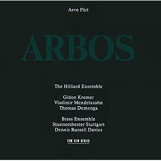 Arvo Part - Arbos