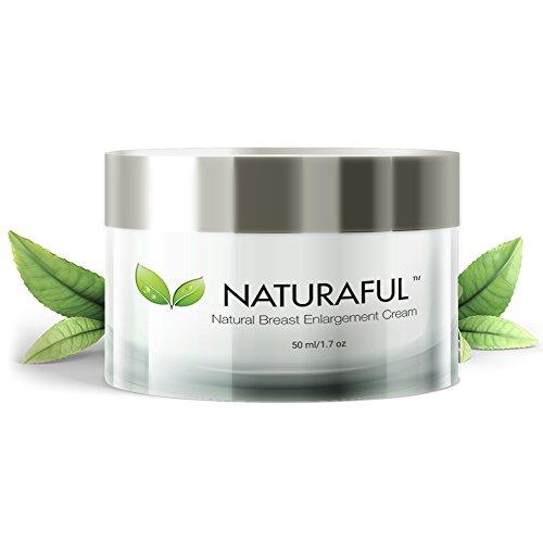 NATURAFUL - (1 vasetto) crema per il miglioramento del seno più quotata - Crema naturale per allungare il seno, rassodare e sollevare | Certificato da oltre 100.000 utenti e include il manuale | Pacchetto valore €70