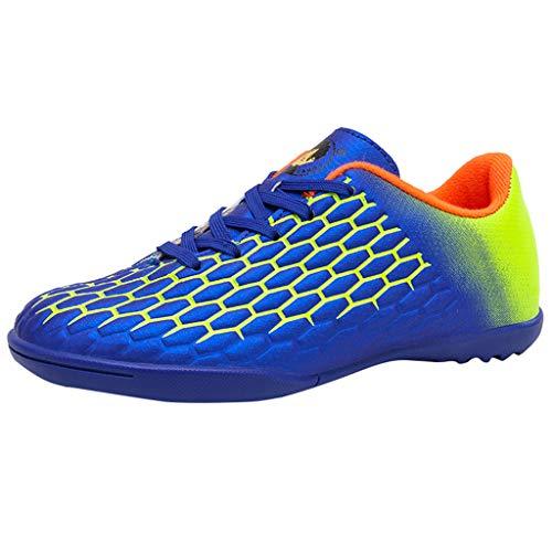Fenverk Damen Erwachsene Tenaz Multisport Indoor Schuhe Veloz Ng Multisport Indoor Sneaker Gel-Cumulus Laufschuhe Sportschuhe Gr. 34-38(Blau,38 EU) -