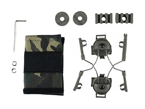 Z-Tactical Helm Rail Adapter Set für COMTAC I & II -olive- [Z046] -