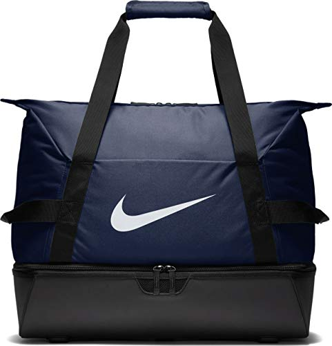 Nike NK ACDMY Team L HDCS Bolsa de Gimnasio, Adultos Unisex, Midnight Navy/Black/White, One Size