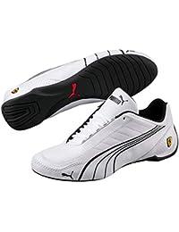 3fa68b032 Puma Mens Ferrari SF Future Cat Kart Driving Athletic Shoes in White (11)