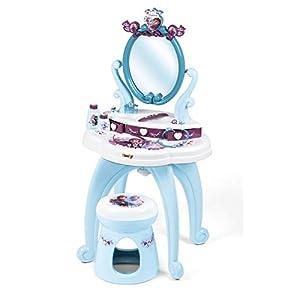 Smoby – Die Eiskönigin 2 Frisiersalon – Frisier- und Schminktisch mit viel Zubehör, Disney Eiskönigin-Design, für Kinder…