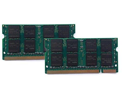 2 x 2GB 1 GB, memoria RAM per Acer Aspire 5610 3690 (Acer Laptop 1 Gb Di Ram)