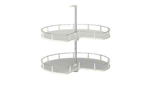 ikea utrusta eckunterschrank-karussell (88cm): amazon.de: küche ... - Ikea Küche Eckschrank Karussell