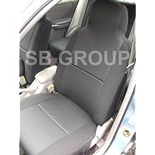 Peugeot 308coche fundas de asiento–color negro–2frentes sólo
