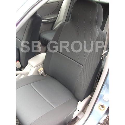 Suzuki SX4Coprisedili, colore: nero carbone–2Fronti Solo
