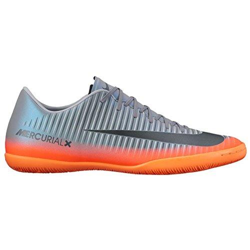 Nike 852526-376, Scarpe da Calcetto Uomo Arancione-Grigio