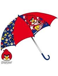 Parapluie enfant garçon Angry birds Rouge/bleu diamètre 65cm