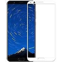 Electro-weideworld [2 Pack] Huawei Honor View 10 Protector de Pantalla, 3D Pro-Fit Pantalla Completa Cristal Templado Pantalla protectora para Huawei Honor View 10,Blanco