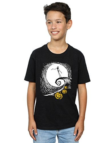 are Before Christmas Jack's Lament T-Shirt 7-8 years Schwarz (Fit Für Einen König Waren)