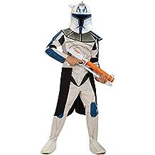 Rex - Clone Trooper - Star Wars - Niños Disfraz - Medium - 132cm