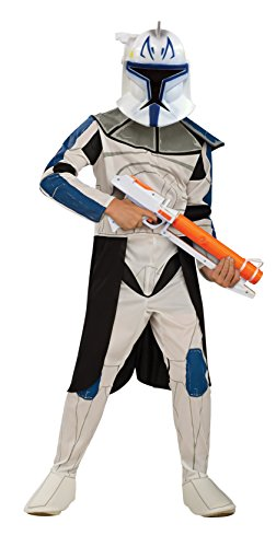 Disney Star Wars Clonetrooper Rex, Kinder Kostüm – Medium (Halloween Kostüm Star Wars)