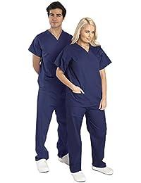 Camisa y Pantalon Uniforme Medico Unisex- Varios Colores