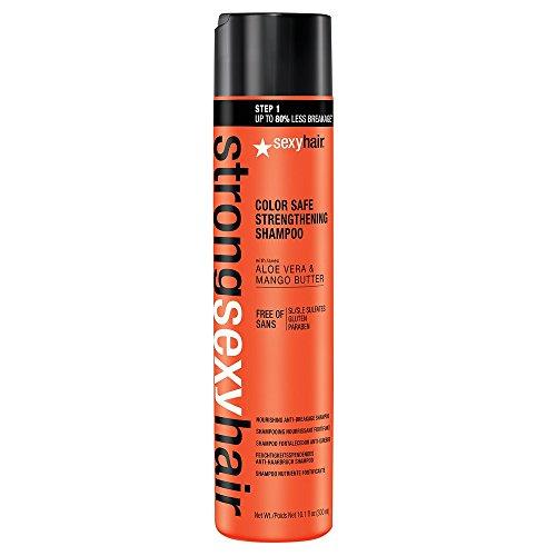 Hair Strengthening Shampoo (sexyhair Strengthening Shampoo Nourishing Anti Breakage, 1er Pack (1 x 300 ml))