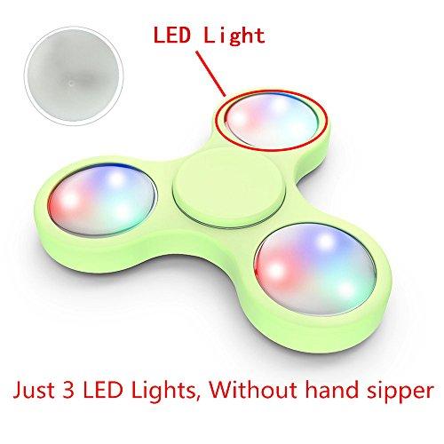 Preisvergleich Produktbild OverDose 3PCS LED Light For Fidget Hand Spinner Torqbar Finger Toy EDC Focus Gyro