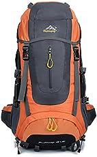 Szbtf, wasserdichter Rucksack, 70 l, für Outdoor-Sport, Trekking, Camping, Bergsteigen, Klettern, Rucksack mit Regenschutz