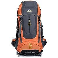 SZBTF 70L Backpack Waterproof Outdoor Sport Trekking Camping Pack Mountaineering Climbing Knapsack