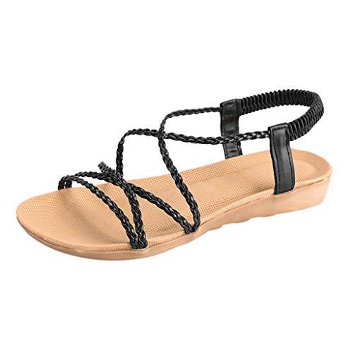 FeiBeauty Damen Mode Mädchen Latin Dance Schuhe Med-Heels Satin Schuhe Party Tango Salsa Dance Tanzschuhe Moda Satin-heels