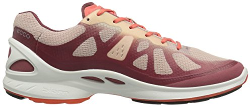 Ecco Biom Fjuel, Chaussures Multisport Outdoor Femme Rouge (50312Petal Trim/Rose Dust/Coral Blush)
